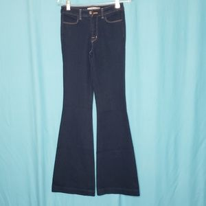 J Brand The Doll Ind 22 Wide Leg Jeans size 27